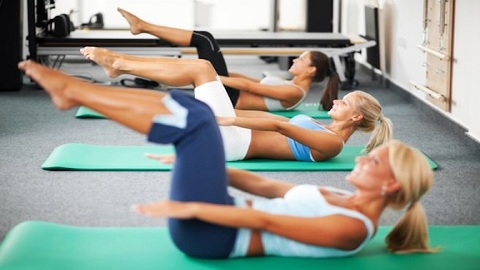 Pilates– how to tone